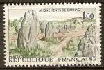 Sellos de Europa - Francia -  alignements de carnac-alineamientos de Carnac.