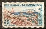 Sellos del Mundo : Europa : Francia : Francés costa somalí-Lago Abbe.