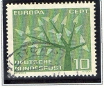 Stamps Germany -  Europa - CEPT 1962