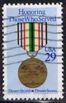 Stamps United States -  Scott  2551 Desert Storm (6)