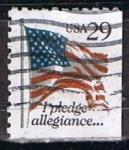 Stamps : America : United_States :  Scott  2593B Bandera