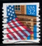 Stamps United States -  Scott  2915 Bandera (9)