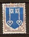 Sellos de Europa - Francia -  Escudo de