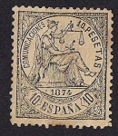Stamps Europe - Spain -  Alegoria de la justicia - I Republica
