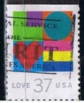 Stamps : America : United_States :  Scott  3657 Love (2)