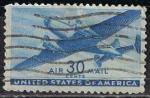 Stamps United States -  Scott  C30 Transprte en avion (6)