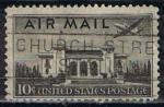 Sellos de America - Estados Unidos -  Scott  C34 Pan-american Union building (4)