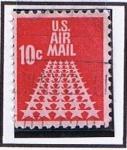 Stamps : America : United_States :  Scott  C72 Estrllas