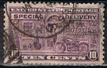 Stamps : America : United_States :  Scott  E12 Motocicleta (4)