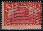 Stamps : America : United_States :  Scott  Q5 Mail Train (1)