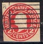 Stamps : America : United_States :  Scott  U429 Washignton