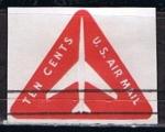 Stamps : America : United_States :  Scott  UC40 Avion