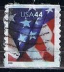 Sellos del Mundo : America : Estados_Unidos : Scott Bandera de 2009 (1)