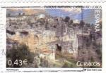 Stamps Spain -  parque natural -cañón río lobos