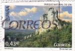 Stamps Spain -  parque natural de izki