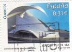 Stamps Spain -  arquitectura-auditorio de tenerife