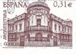 Sellos de Europa - España -  palacio de longoria madrid