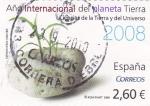 Stamps Spain -  año internacional del planeta Tierra-ciencias de Tierra y del Universo