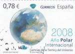 Sellos de Europa - España -  año polar internacional-ciencias de la Tierra y del Universo