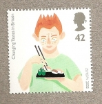 Stamps United Kingdom -  Cambio de gustos UK