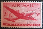 Stamps America - United States -  air mail