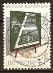 Sellos del Mundo : Europa : Luxemburgo : 10º Aniv  de las Escuelas Europeas.Luxemburgo, Bruselas, Varese, Mol y Karlsruhe.