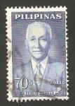 Sellos del Mundo : Asia : Filipinas : 545 - Sergio Osmeña