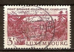 Sellos del Mundo : Europa : Luxemburgo :  Puente Gran-Duquesa Carlota,