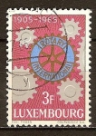 Sellos del Mundo : Europa : Luxemburgo : 60 º Aniv Rotary International.