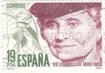 Sellos de Europa - España -  Helen Keller 1880-1968