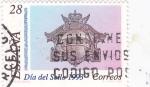 Sellos de Europa - España -  dia del sello 1993- boca de buzón