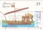 Stamps Spain -  barcos de epoca-embarcación real