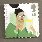 Stamps United Kingdom -  Cambio de gustos UK