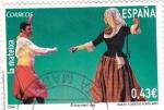 Sellos de Europa - España -  bailes y danzas populares-la mateixa
