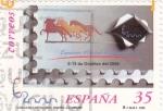 Sellos de Europa - España -  caballos cartujanos 3680