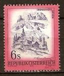 Sellos del Mundo : Europa : Austria : La cabaña de Lindauer en (sierra) Rätikon en Vorarlberg.