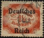 Sellos del Mundo : Europa : Alemania : Timbre de servicio de Baviera