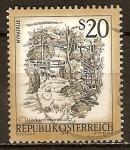 Sellos del Mundo : Europa : Austria : Myrafälle(cascadas-Myra)Muggendorf  en la baja Austria.
