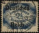 Stamps : Europe : Germany :  Timbre de servicio Baviera
