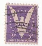 Sellos de America - Estados Unidos -  win the war