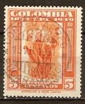 Sellos del Mundo : America : Colombia : 75a Aniv de la UPU.