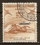 Sellos del Mundo : America : Colombia : Nevado del Ruiz. Manizales.