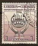 Sellos del Mundo : America : Colombia : Departamento de Antioquia.