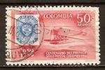 Sellos del Mundo : America : Colombia : Primer centenario del sello Colombiano, 1859-1959.