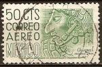 Sellos del Mundo : America : México : Chiapas ,arqueologia.