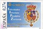 Stamps Spain -  boda s.a.r el principe de asturias con doña letizia ortiz