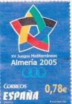 Stamps Spain -  XV juegos Mediterráneos Almería 2005