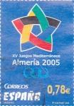 Sellos de Europa - España -  XV juegos Mediterráneos Almería 2005