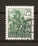 Sellos de Europa - Alemania -  DDR / Plan Quinquenal - Heliograbados.