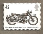 Stamps United Kingdom -  Motocicletas